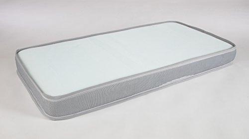 Imagen para Seasons-Colchón de cuna Aloe Vera, material transpirable  Air Active, antiahogo con malla 3D, 57x117 cm