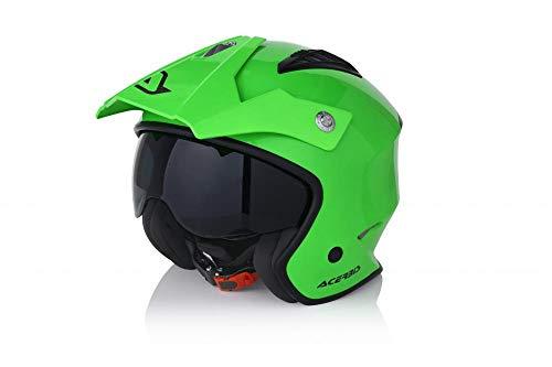 casco Jet aire Verde 2S
