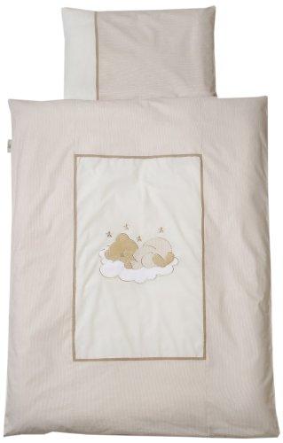 Easy Baby Sleeping Bear 415-83 Parure de lit 80 x 80 cm, nature