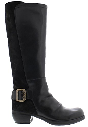 Fly London Miss141fly, Stivali da Equitazione Donna Nero (Black)