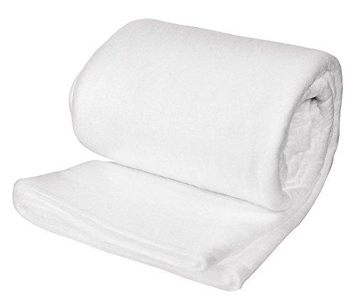HENNECKEN Volumenvlies Super Quilt, King Size 3 x 3m, zum Füllen Patchwork Quilten Nähen