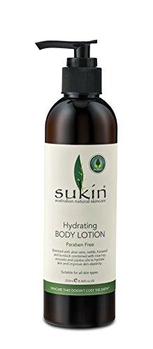 Lotion hydratante pour le corps de pompe Sukin 250ml