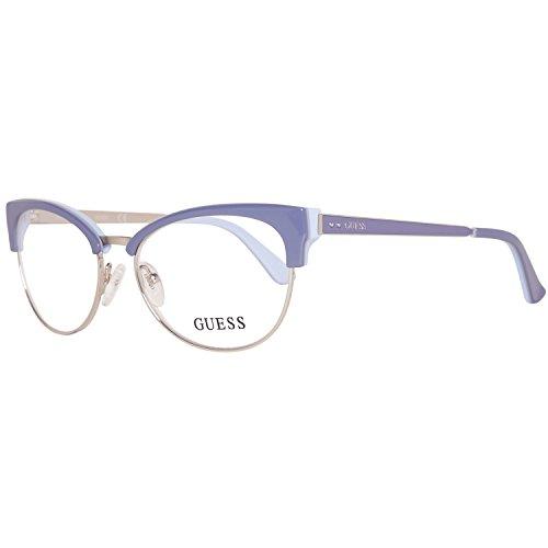 GUEX5 Damen Brillengestelle Brille GU2552 52078, Violett, 52