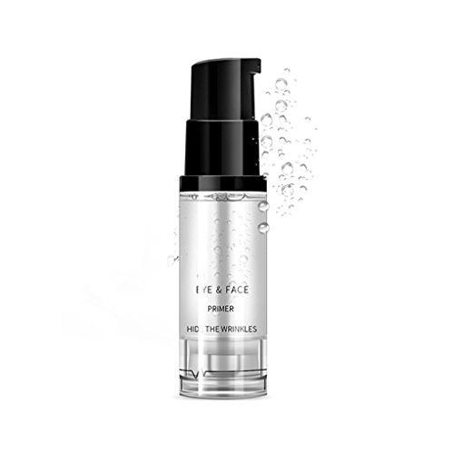 Luckiests 8 ml Frauen-Mädchen-Lidschatten Gesicht Primer Basis Foundation Lotion Creme Anti-Falten-Makeup Gel-Augen-Creme Concealer