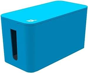 Bluelounge Cablebox Mini Kabelbox Blau Amazon De Elektronik
