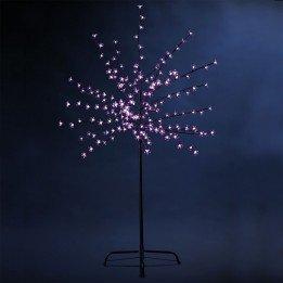 Arbre de Noël lumineux Luci Rose