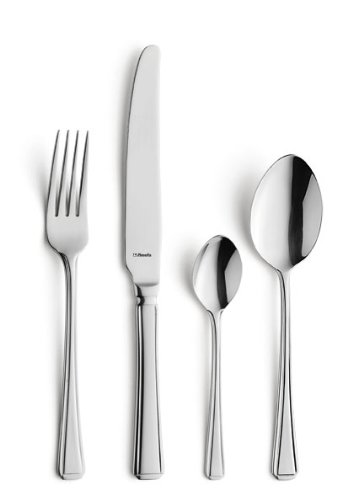 Amefa Monogram Harley 44 Piece 6 Person Luxury Cutlery Set