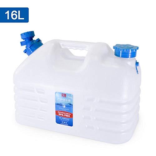 Basisago Secchio per Acqua Potabile, Secchio per Auto, Secchio per Acqua e Acqua Potabile, Secchio con Rubinetto, 16L