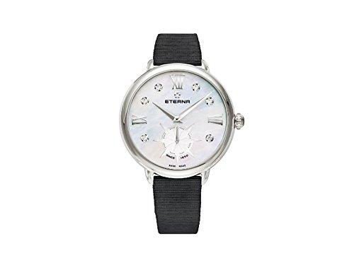 Eterna Lady Eterna Quartz Watch, R 6004D, 34mm, 5 ATM, Diamonds, Mother of Pearl