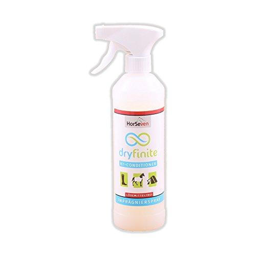HorSeven dryfinite Conditioner 500ml - Imprägnierspray, Pferdedecken Imprägnierung Wetterschutz Geruchsneutral -