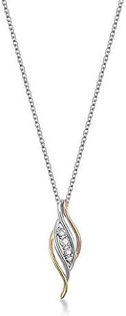 Mestige Women Glass Odyssey Trinity Necklace with Swarovski Crystals