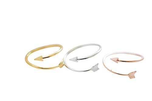 Mini BFF beste Freund Boho Sideways Brave Gerade Chevron Liebe Amorbogen Pfeil Erste Mid Pinky Knöchel-Finger-Adjustable Expendable Stretch-Band-Ring für Frauen-Mädchen