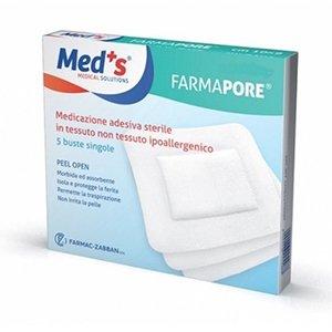 Med's Farmapore Cerotti Medicazione Adesiva Sterile 9x600cm 5 Pezzi
