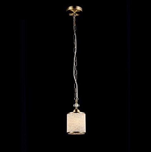 Casa Padrino Jugendstil Decken Hängelampe Antik Bronze 12 x H 25 cm Antik Stil - Möbel Lüster...