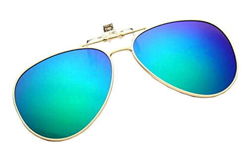 Alien Storehouse Leichte Clip-on Sonnenbrillen Objektive Fahren im Freien [Color-4]