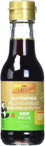 Lee Kum Kee Soja-Sauce hell glutenfrei (aus China, natürlich gebraut, ohne Geschmacksverstärker, würzig) 4er Pack (4 x 150ml)