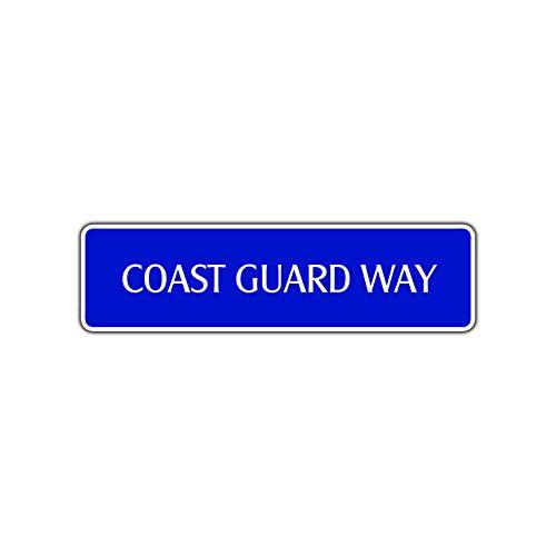 Coast Guard Way Metallschild US Navy Naval Military Ocean Sea Wall Decor 4