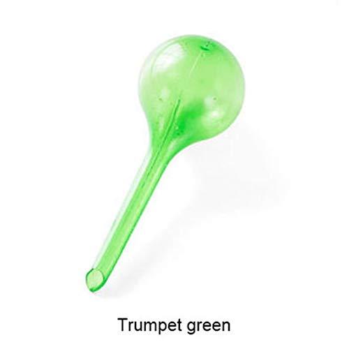 VIGE Praktische Design PVC Selbstbewässerung System Nachahmung Glaskugel Pflanze Waterer Blumen Bewässerungsvorrichtung Kugel Typ drip-grün S -