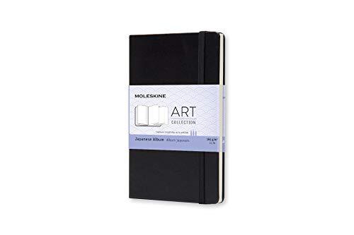 Moleskine Kreativ-Notizbücher, Japanisches Album Pocket, Hardcover schwarz