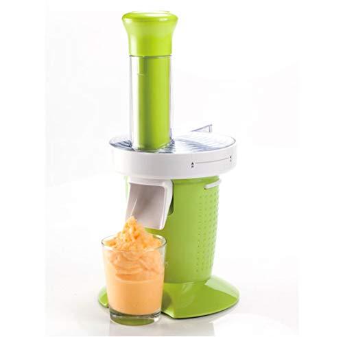 NDY Eiscreme-Maschine Milch Hausgemachte Mini-Frucht-Eis-Maschine Kinder Frucht Eis Kegel Maschine Home Desktop Kleinen Haushalt