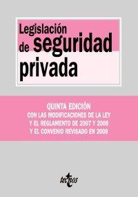 Legislación de seguridad privada (Derecho - Biblioteca De Textos Legales) por Borja Mapelli Caffarena