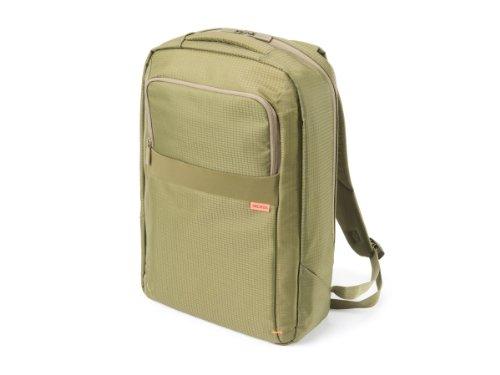 Dicota BacPac Rucksack für Notebook bis 41,6 cm (16,4 Zoll) grün (Kollektion Essential Notebook)