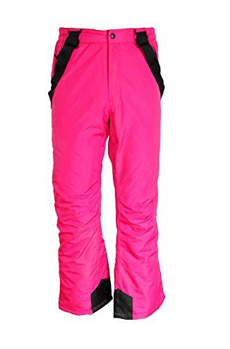 Unbekannt Kinder Mädchen Skihose Schneehose Snowboardhose Winterhose Pink 146/152