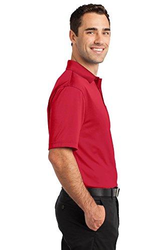 Cornerstone Herren Haken Beweis, Polo Performance der Rot
