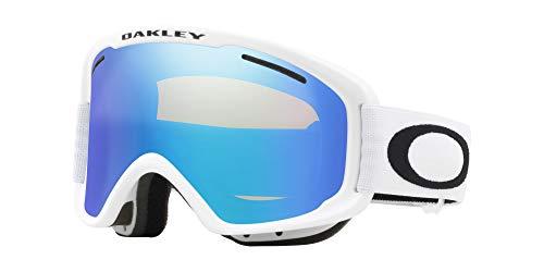 Oakley Maschera da Sci O2 XM OO 7066 MATTE WHITE/VIOLET IRIDIUM PERSIMMON unisex