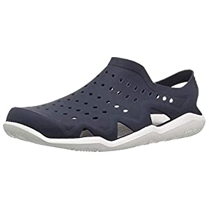 Ethics Stylish Blue Rubber Clogs for Men's