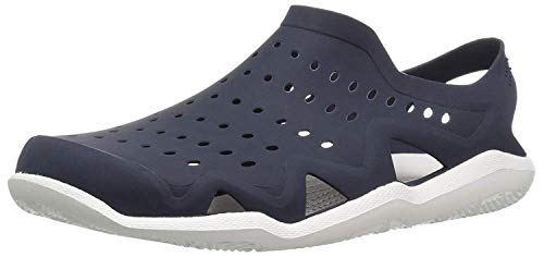 ETHICS Blue Rubber Clogs for Men's (6)