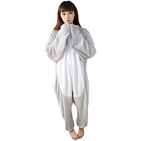 Molly Unisex Adulto Kigurumi Pigiama Cosplay Costume Animale Pigiama XL