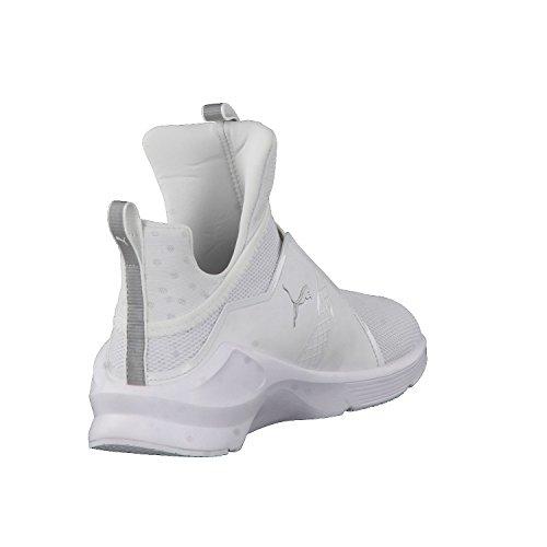 Puma Damen Fierce Core Hallenschuhe Weiß (White-Silver)