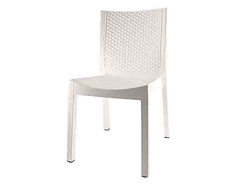 Dimaplast panarea sedie per interno ed esterno ideali in giardino e