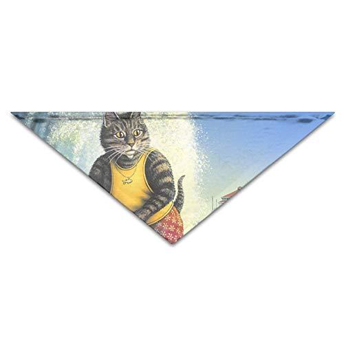 RGHUBTA - Bufanda de surf para perros
