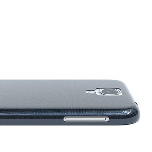 Samsung Galaxy S4 / S4 Neo Hülle - EAZY CASE Ultra Slim Cover TPU Handyhülle Matt - dünne Schutzhülle aus Silikon in Dunkelblau Brushed Dunkelblau