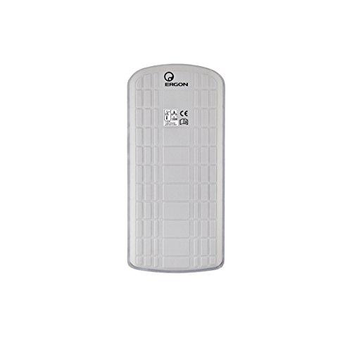 Ergon BP100 Rückenprotektor für Erwachsene, Unisex, Weiß, M
