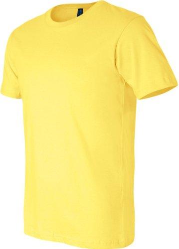 Unisex in Tela maglia pantaloncini-T-Shirt maniche Giallo - giallo