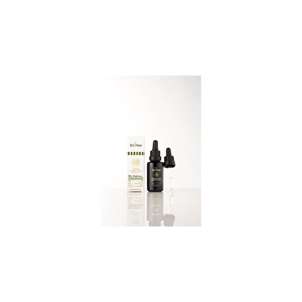 Bio Kaktusfeigenkernl In Premium Qualitt Anti Aging Naturkosmetik Fr Gesicht Halsdekollet Und Hnde Von Bioriens Cosmetics 100 Fair Rein Vegan Und Kalt Gepresst 30 Ml
