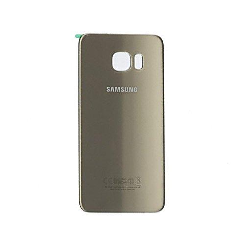 MIMOB Glass Battery Back Door Panel for Samsung Galaxy S6 Edge (Golden)