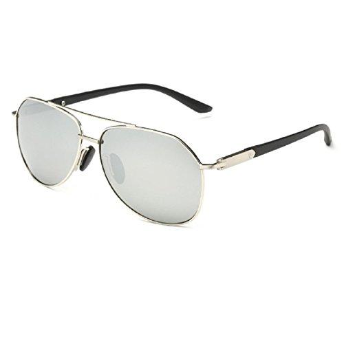 O-C Herren Sonnenbrille Silber Silber