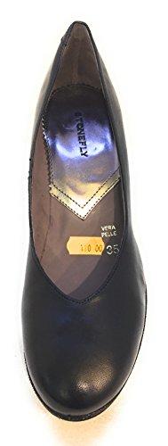 Stonefly 109150 Decollete' Donna Nero