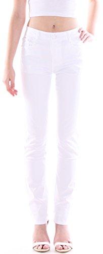 Damen Hochschnitt Jeans Hose, Straigh Leg, High Waist auch Übergrößen weiß Röhrenjeans Damenjeans Damenhose Jeanshose Stretch Stretchjeans Stretchhose Highwaist Hoch Schnitt Hochbund Bund Röhre Oversize Over Size Plus Big Bigsize Gr Größe 50 m1 (Plus Größe Hosen-jeans)