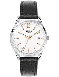 Henry London HL39-S-1001 - Reloj de Cuarzo Unisex, con Esfera analógica