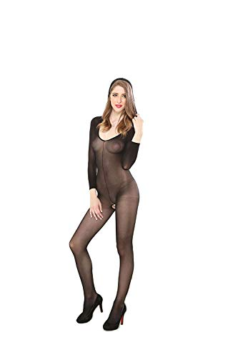 ACZZ Sexy Dessous, Sexy Strümpfe, Korsettkleid Erotische Unterwäsche Babydollspitze Ganzkörper Hohlstrumpfhose Damen 'S Schlafanzug Strümpfe Perspektive