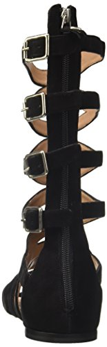 Twin-Set Cs7tuu, Sandale Spartiates Femme Noir
