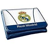 Cartera billetera clips de Real Madrid White