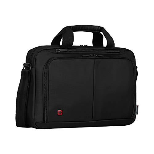 """Wenger Elegante Businesstasche für Notebooks Source bis zu 14\"""" Laptop Aktentasche schwarz"""