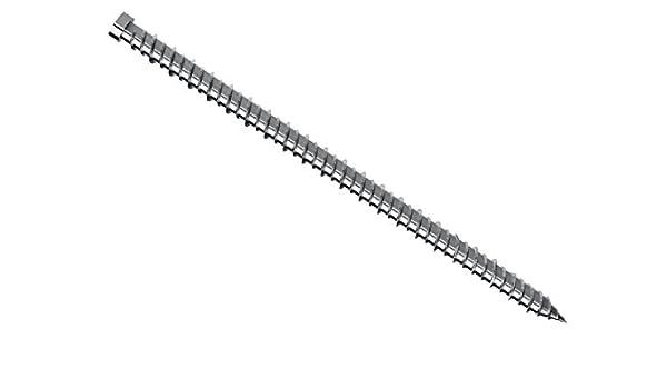 VE = 100 St/ück galv | Abmessung: 7,5 x 152mm JD Plus Fensterrahmenschrauben mit kleinem Kopf f/ür Holz-Profile verzinkt