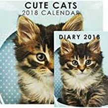 New calendar and diary set cute cats 2018 this will make a great christmas gift